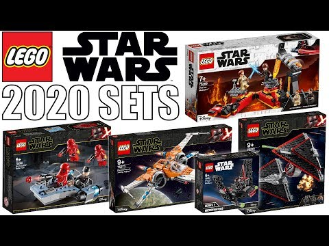 New Lego Star Wars 2020 Set Pictures More Episode 9 Sets Youtube