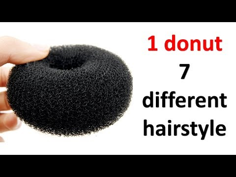 7-easy-hairstyles-in-1-donut-||-prom-hairstyles-||-cute-hairstyles-||-juda-hairstyles-||-hairstyle