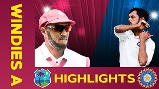 West Indies A vs India A - Match Highlights   1st Test - Day 2   India A Tour of West Indies