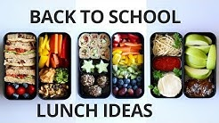 SCHOOL LUNCH IDEAS FOR KIDS (VEGAN)