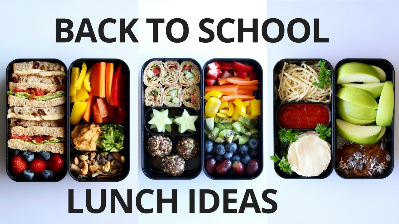 School Lunch Ideas For Kids Vegan Youtube