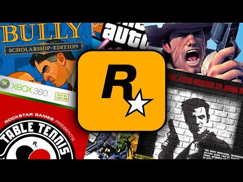 5 Rockstar Games That You've Never Played Before!