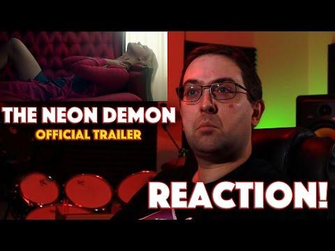 REACTION! The Neon Demon Official Trailer - Elle Fanning, Christina Hendricks