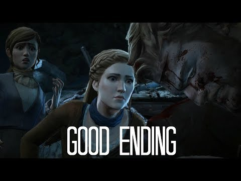 Game Of Thrones Telltale Good Ending (Asher With Gwyn & Mira Alive)
