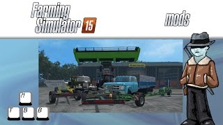 Farming Simulator 15 Mod Spotlight - Not Dumping Dump Trucks