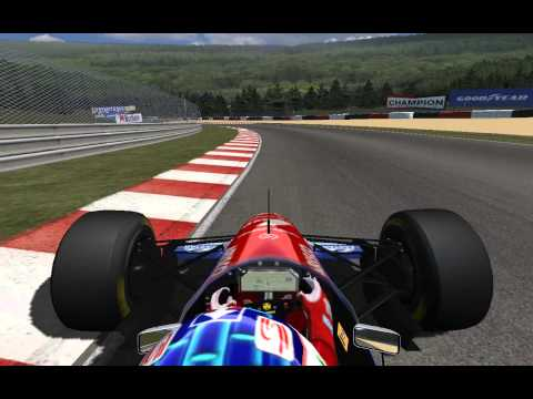 Rfactor: Spa 1988 with Jordan 194 (Rubens Barrichello)