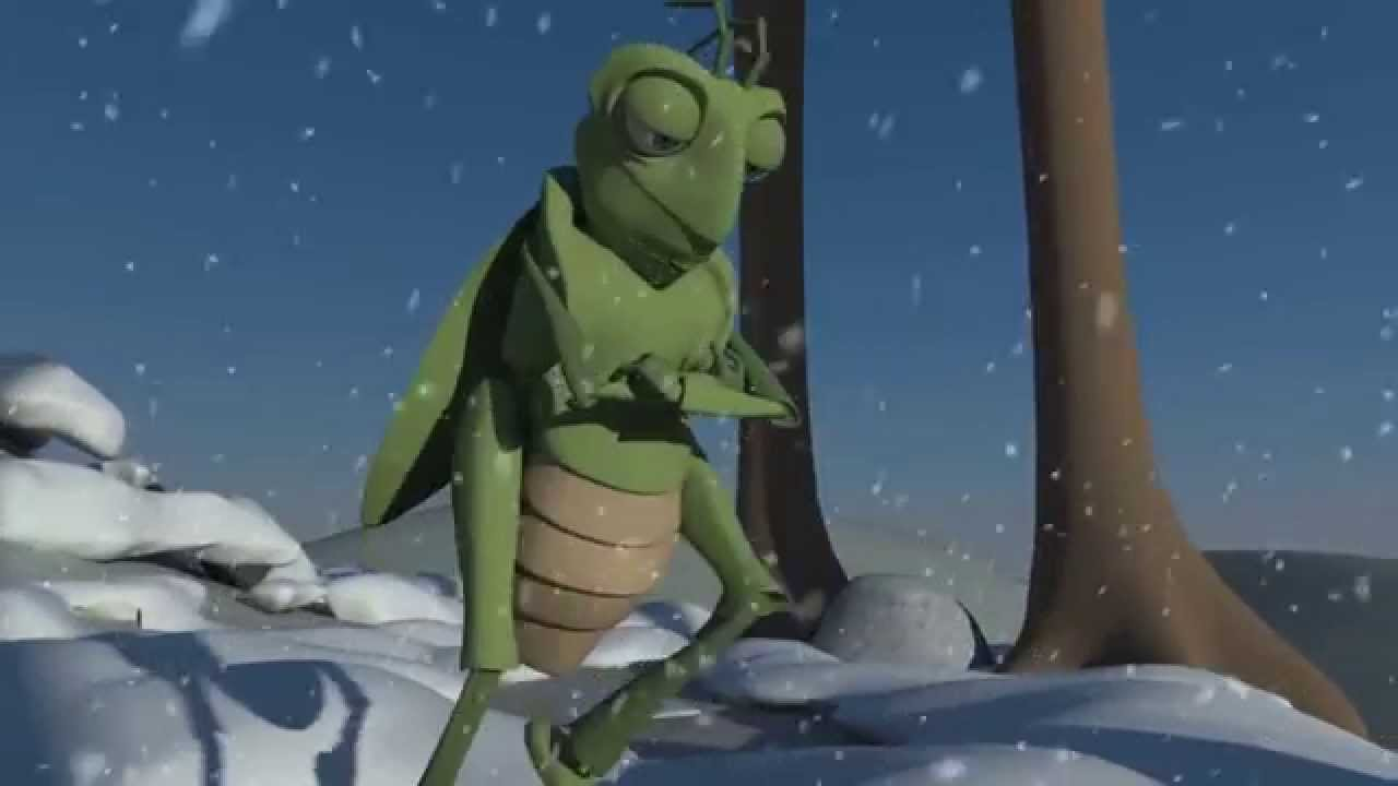 The Ant and The Grasshopper - 3D short film - YouTube