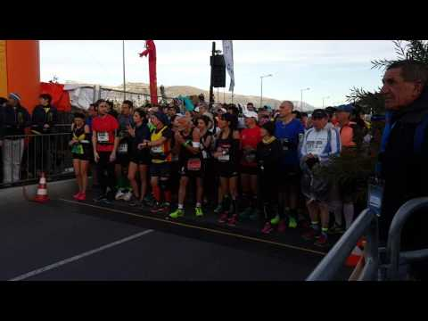 Marathon nice-cannes 13 novembre 2016.