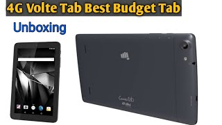 MICROMAX TAB P702 Best in Budget   FULL UNBOXING AND REVIEW
