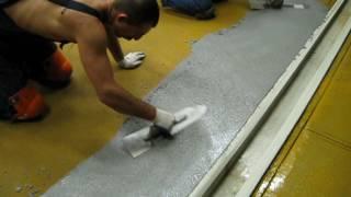 видео Промышленные полы, выбор пол на предприятии, часть 2. Наливные бетонные полы