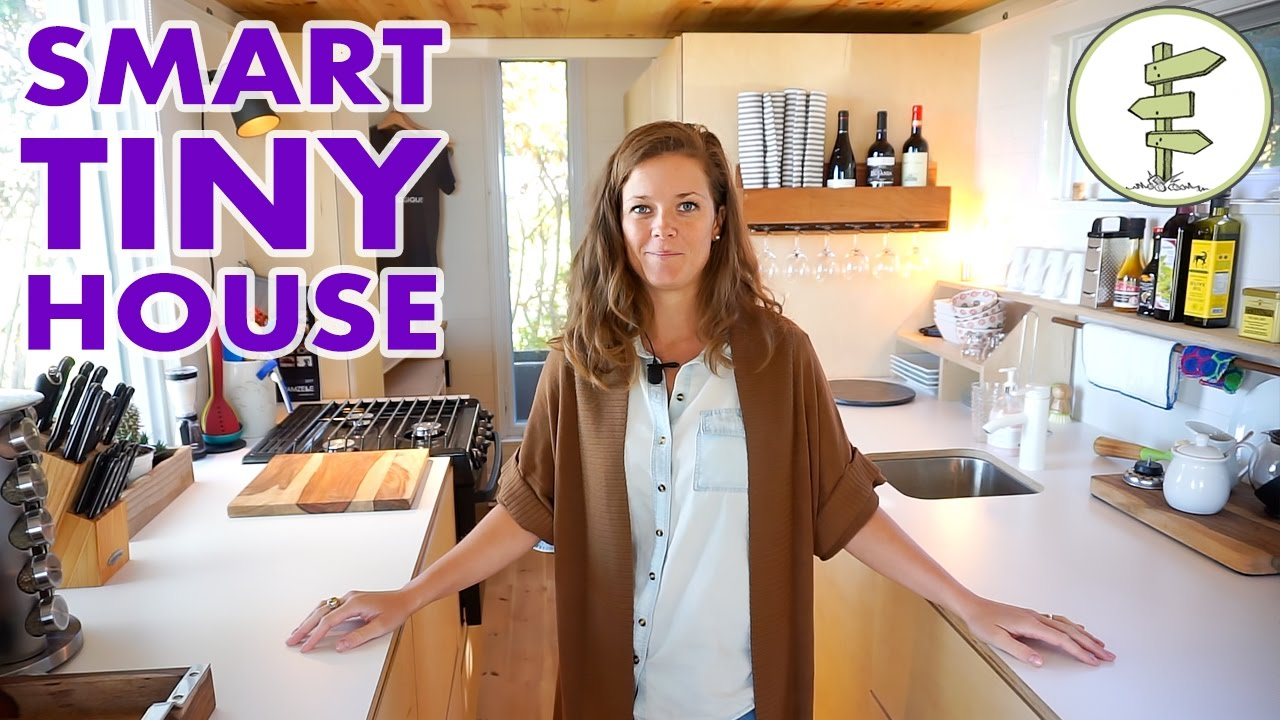 modern-tiny-house-with-hidden-bathroom-space-saving-furniture-full-tour