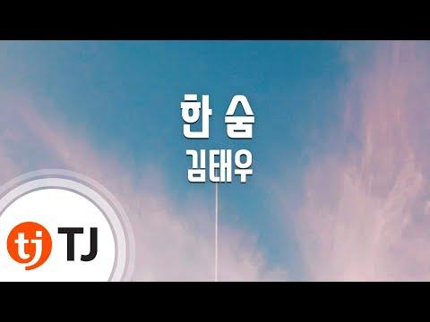 [TJ노래방] 한숨 - 김태우(Kim, Tae-Woo) / TJ Karaoke