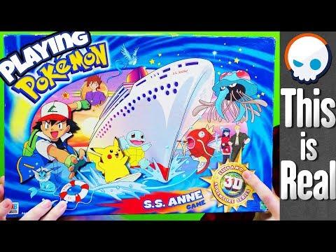 The S.S. Anne Got Its Own 3D Pokemon Board Game? | Gnoggin