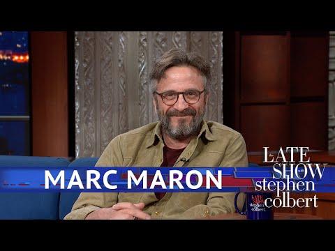 Marc Maron Couldn't Keep His Cool Around Robert De Niro