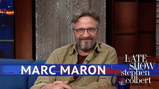 Marc Maron Couldn't Keep His Cool Around Robert De Niro