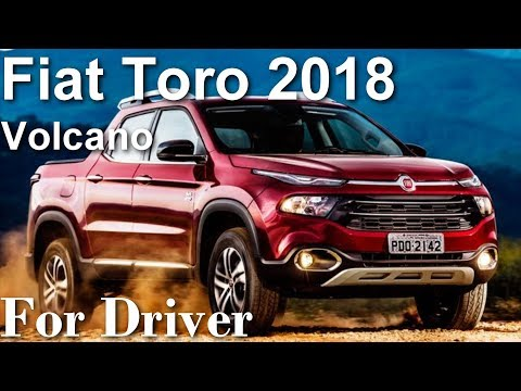 Fiat Toro 2018 4x4 Diesel Volcano Canal For Driver