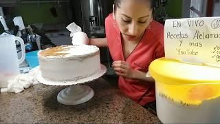 Pastel De Baby Shower Niña / Montando Pastel 3 Pisos.