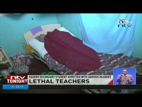 Two Sagero teachers assault form three student in Migori for not shaving his hair