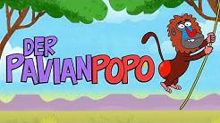 ♪ ♪ Kinderlied Affe - Der Pavianpopo - Hurra Kinderlieder
