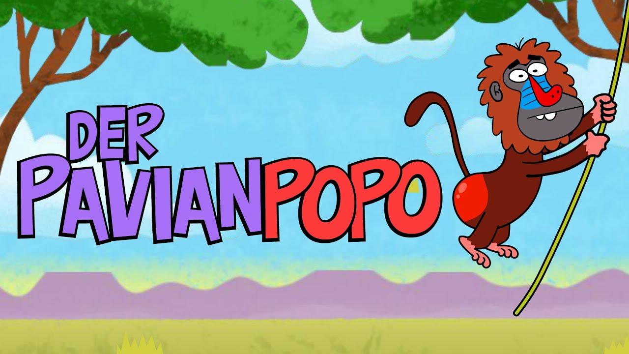 Download ♪ ♪ Kinderlied Affe - Der Pavianpopo - Hurra Kinderlieder