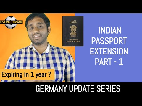 Indian Passport Extension | Part - 1 | Germany Update Series