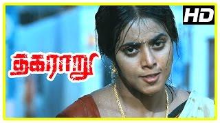 Thagararu movie scenes | Pawan reveals Poorna is the killer | Arulnithi | Aadukalam Murugadoss