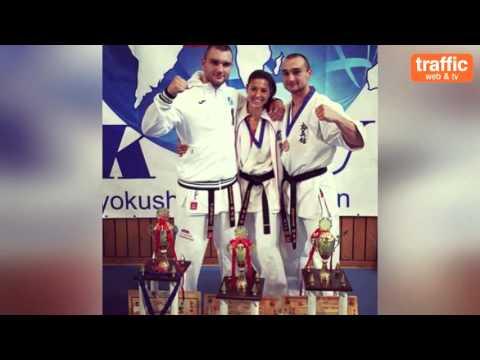 Най-добрият ни каратист Александър Команов в СЕЛФИ по Трафик ТВ
