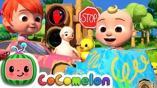 Traffic Safety Song | CoCoMelon Nursery Rhymes & Kids Songs