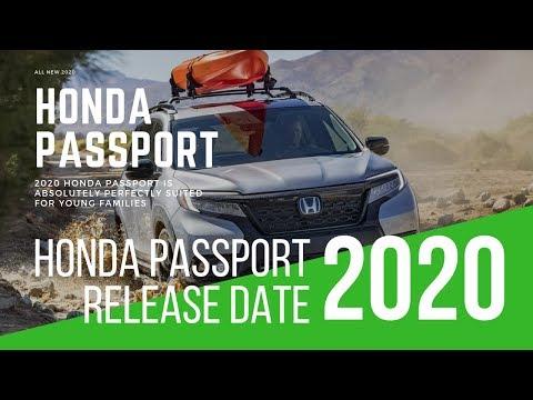 2020 Honda Passport SUV Release Date