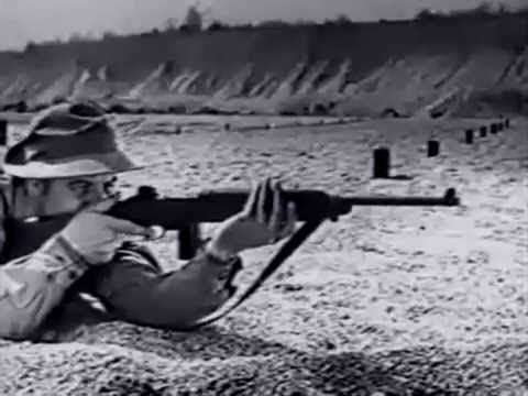Official Training Film War Department (1943) - Rifle U.S. Cal. .30 M1
