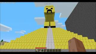 Minecraft - Świątynia oraz Posąg Creepera | Temple and Statue of Creeper