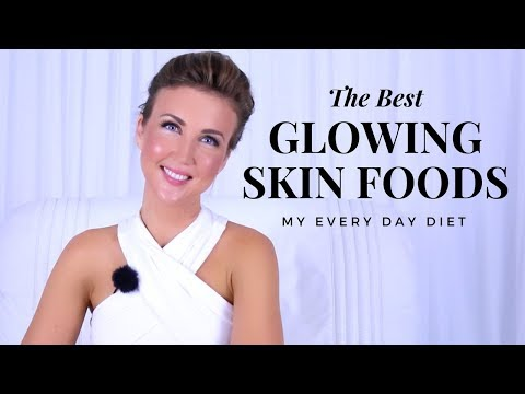 5 Foods For Glowing Skin: My Every Day Beauty Foods!