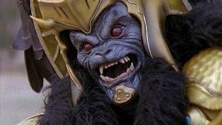 Power Rangers vs Goldar Fights (Mighty Morphin Power Rangers)