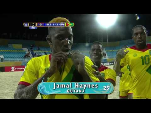 BSC 2017: Belize vs Guyana Highlights