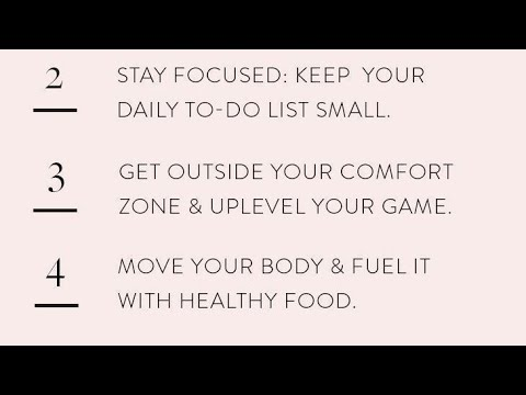 99 Habits For a Better Life || Positive Vibes