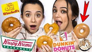 Can We Find The Krispy Kreme? Donut Taste Test BLINDFOLDED! ...