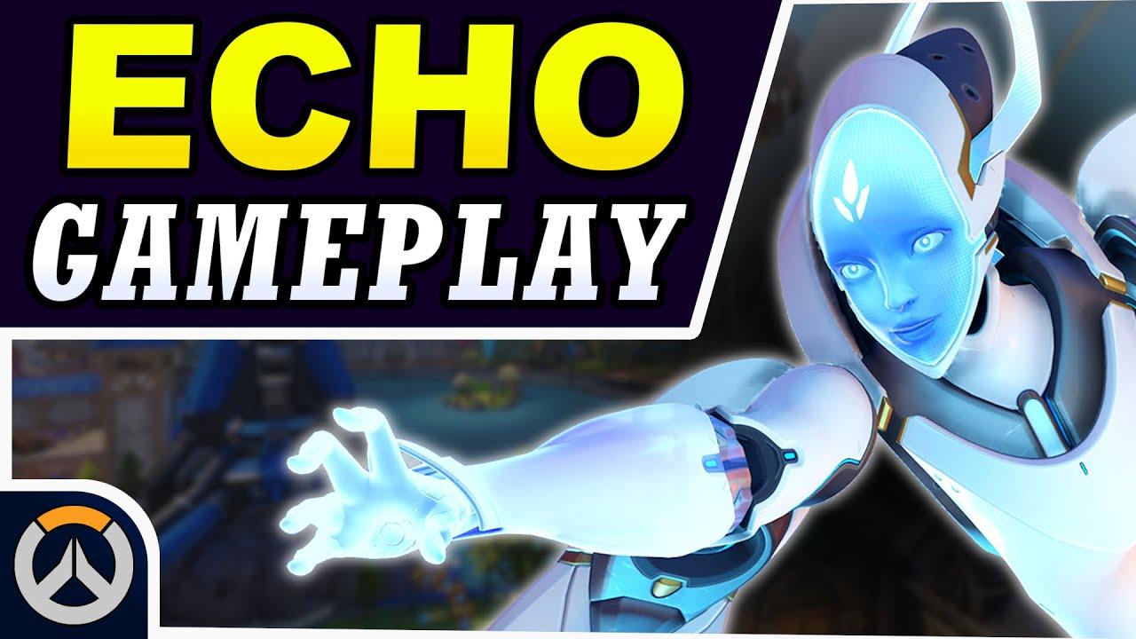 Download Overwatch - ECHO GAMEPLAY! - Playtesting New Hero Echo on PTR