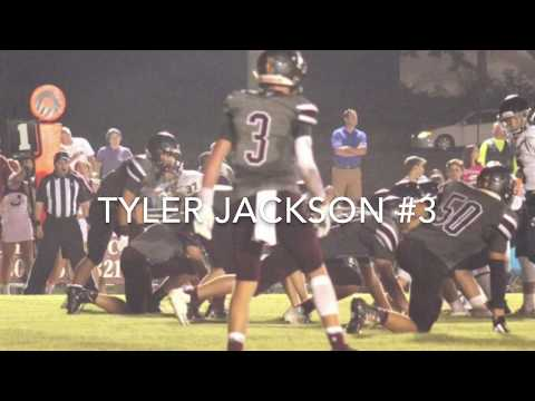 Thorsby High School Tyler Jackson football highlights week 1