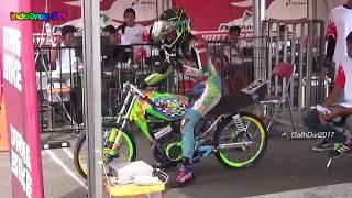 Motor JAMBRET Di Final Drag Bike Pertamax RFT Cicangkal