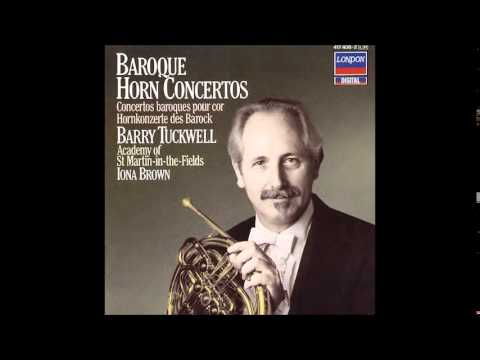 Baroque Horn Concertos, Barry Tuckwell