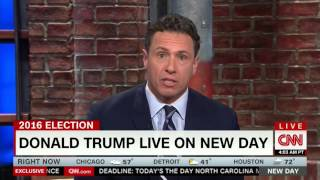 Donald Trump Gets Mad at CNN for Not Congratulating Him on Winning Nomination