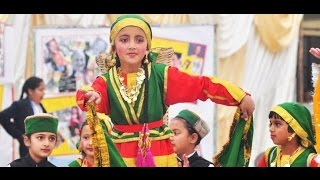 Pahadi Dance(Nati) By Awesome kids took back to school days feeling nostalgic!