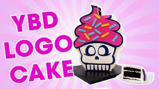 YBD Logo Cake - YOU'VE BEEN DESSERTED