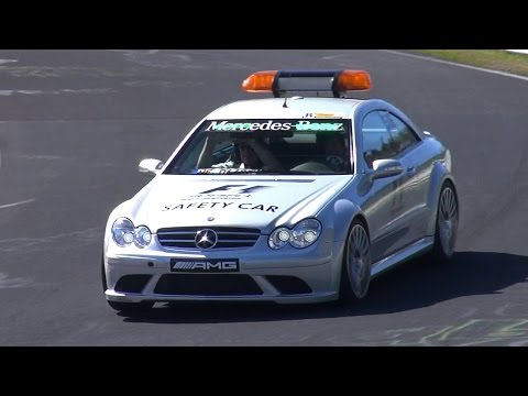OFFICIAL Mercedes-Benz CLK63 AMG Black Series FIA F1 SAFETY CAR!!