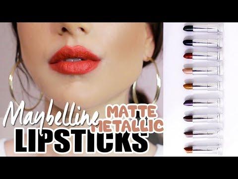 new-maybelline-matte-metallic-lipsticks!-+-lip-swatches!