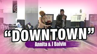 DOWNTOWN - Anitta & J.Balvin (Coreografía) Zumba Dance by Ysel y Edson