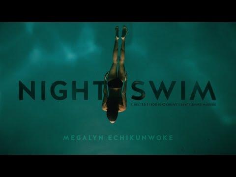 NIGHT SWIM short film starring Megalyn Echikunwoke