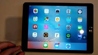 Apple iPad Air Quality Control Testing