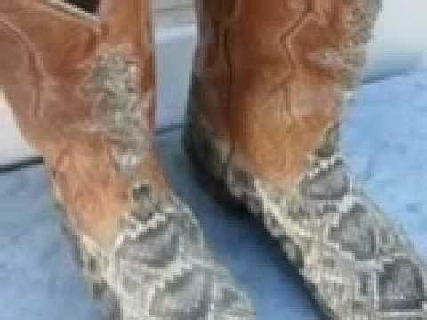 AWESOME HAND MADE SNAKESKIN COWBOY BOOTS FIND, by The California Picker(TM)