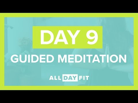 Guided Meditation Day 9 | Mindful Yoga Flow